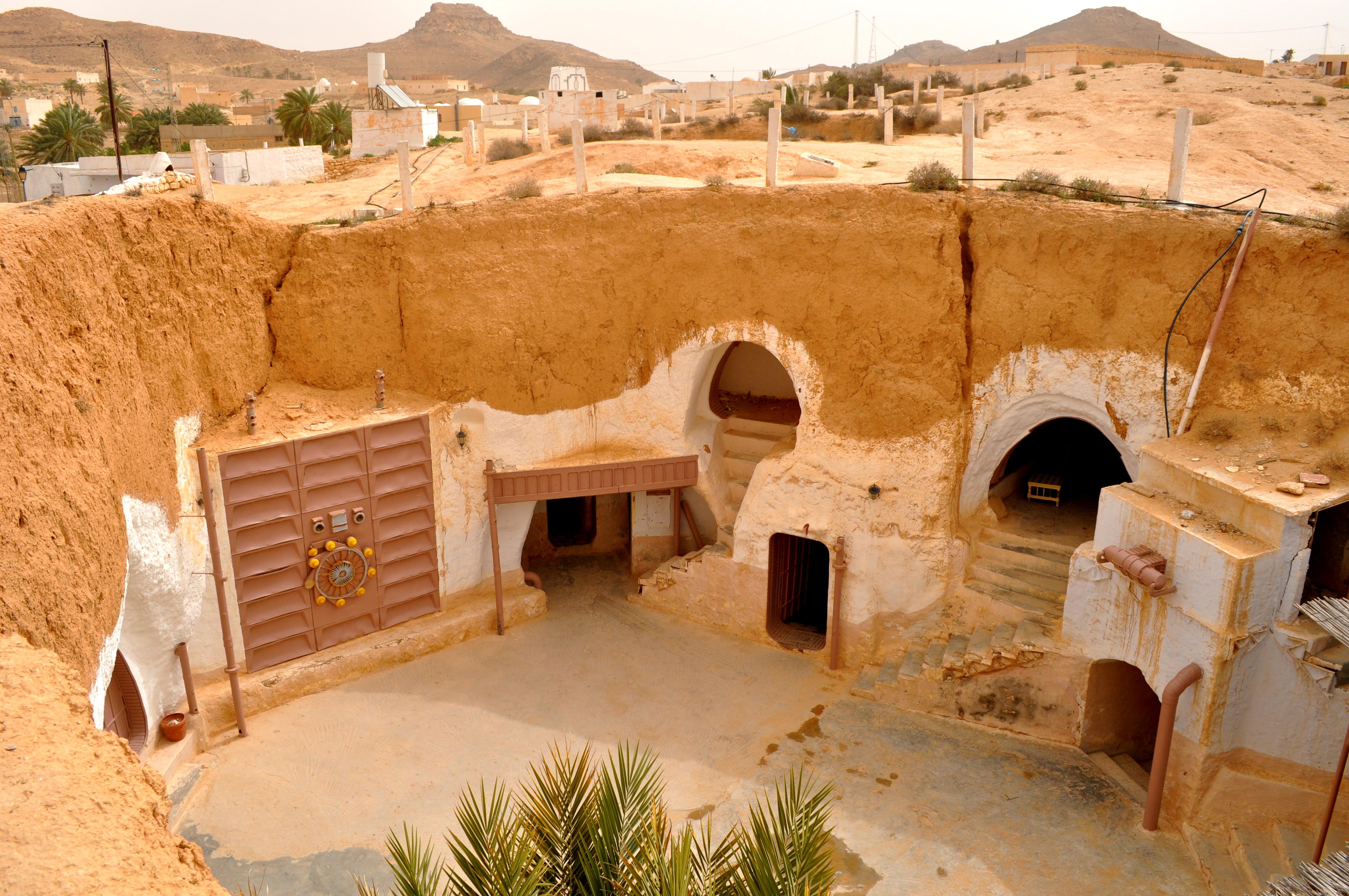 Sidi el Driss Hotel, Matmata, Tunisi