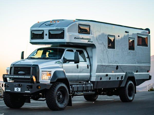 Camper EarthRoamer XV-HD / EarthRoamer