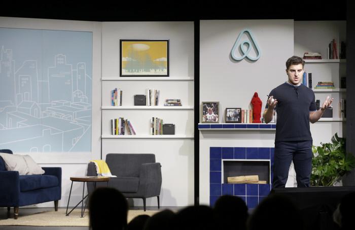 Brian Chesky, CEO y cofondatore di Airbnb