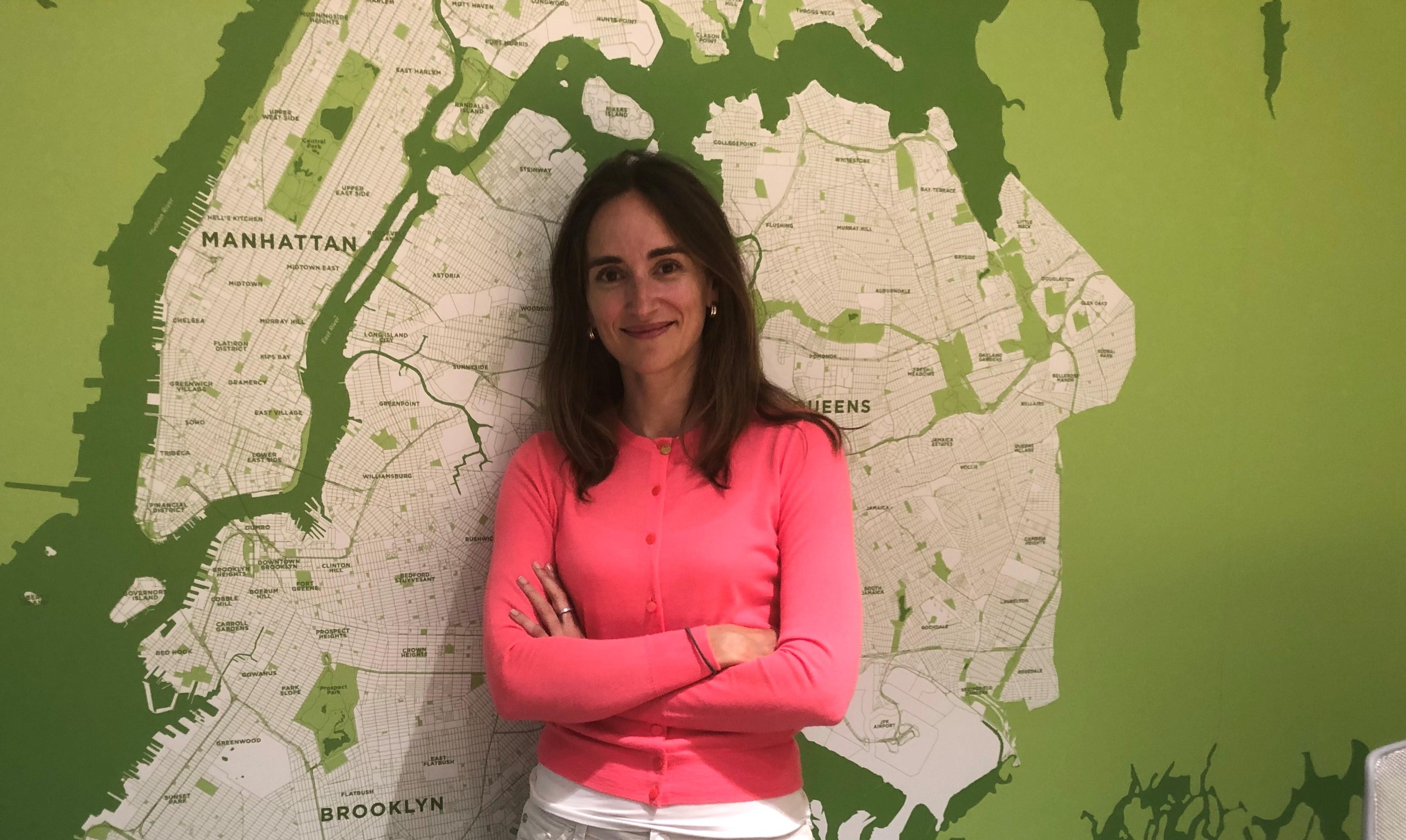Ana Ariño, vicepresidente esecutivo dell'Agenzia per lo sviluppo economico di New York