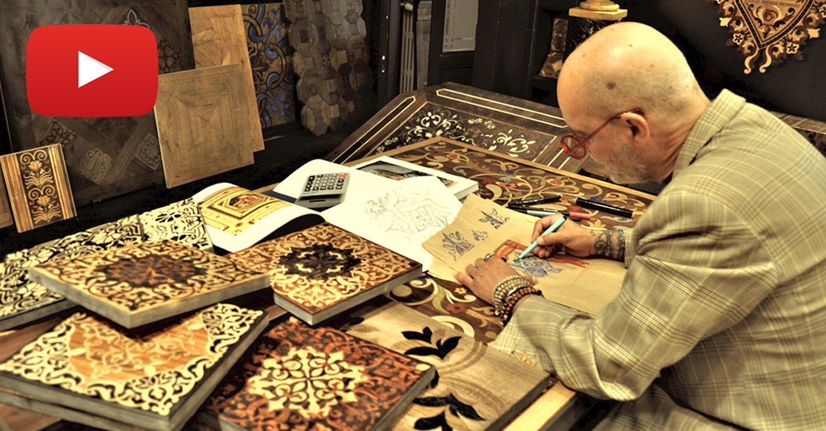 Carlo Apollo, l'artigiano del legno