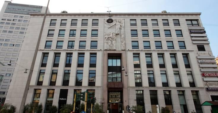 Palazzo dell'Informazione a Milano