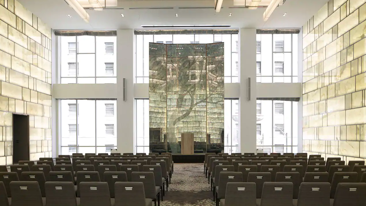 Una grande sala per eventi