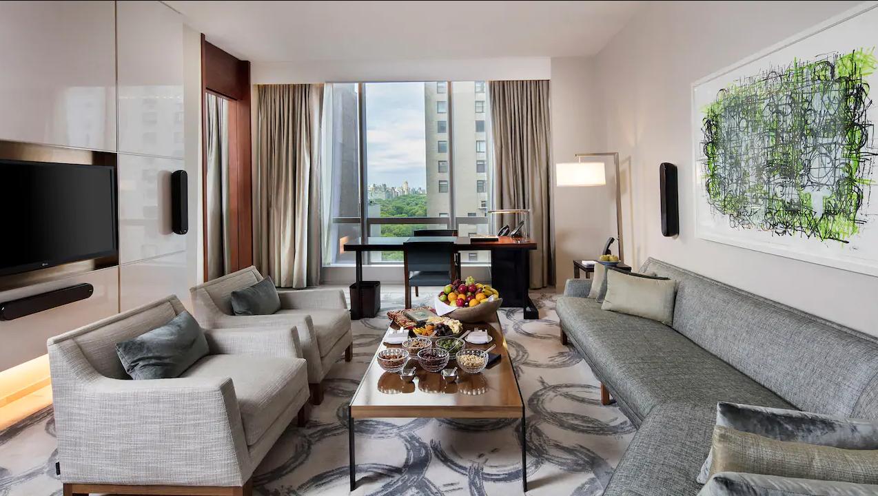 Il soggiorno ha le dimensioni di un appartamento