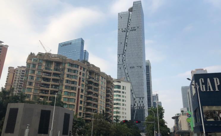 Torre Fuksas a Shenzhen / Fuksas