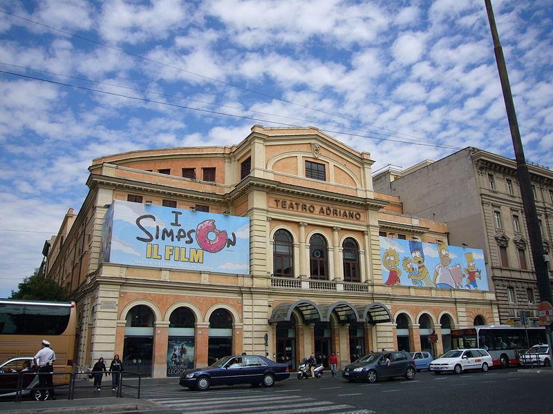 Il Cinema Adriano di Roma / Lalupa/wikipedia