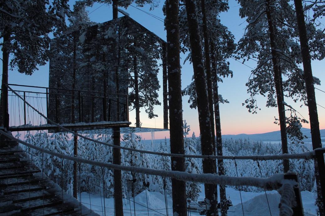 Mirror Cube Svezia / www.treehotel.se