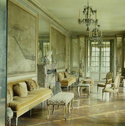Elsie de Wolfe, Long Gallery in the Morgan wing of Villa Trianon, Versailles, France, 1905-50 (Photo: 1984)