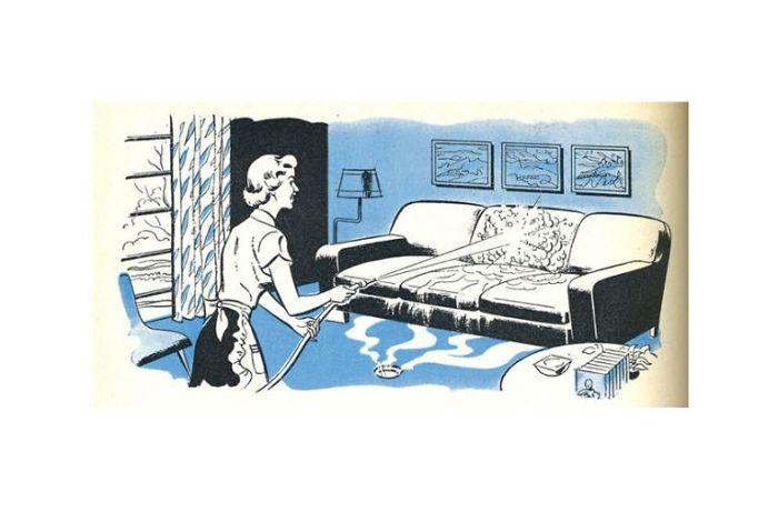 Il divano impermeabile