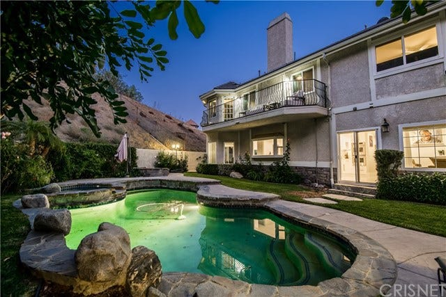 La casa è in vendita per 2,3 milioni