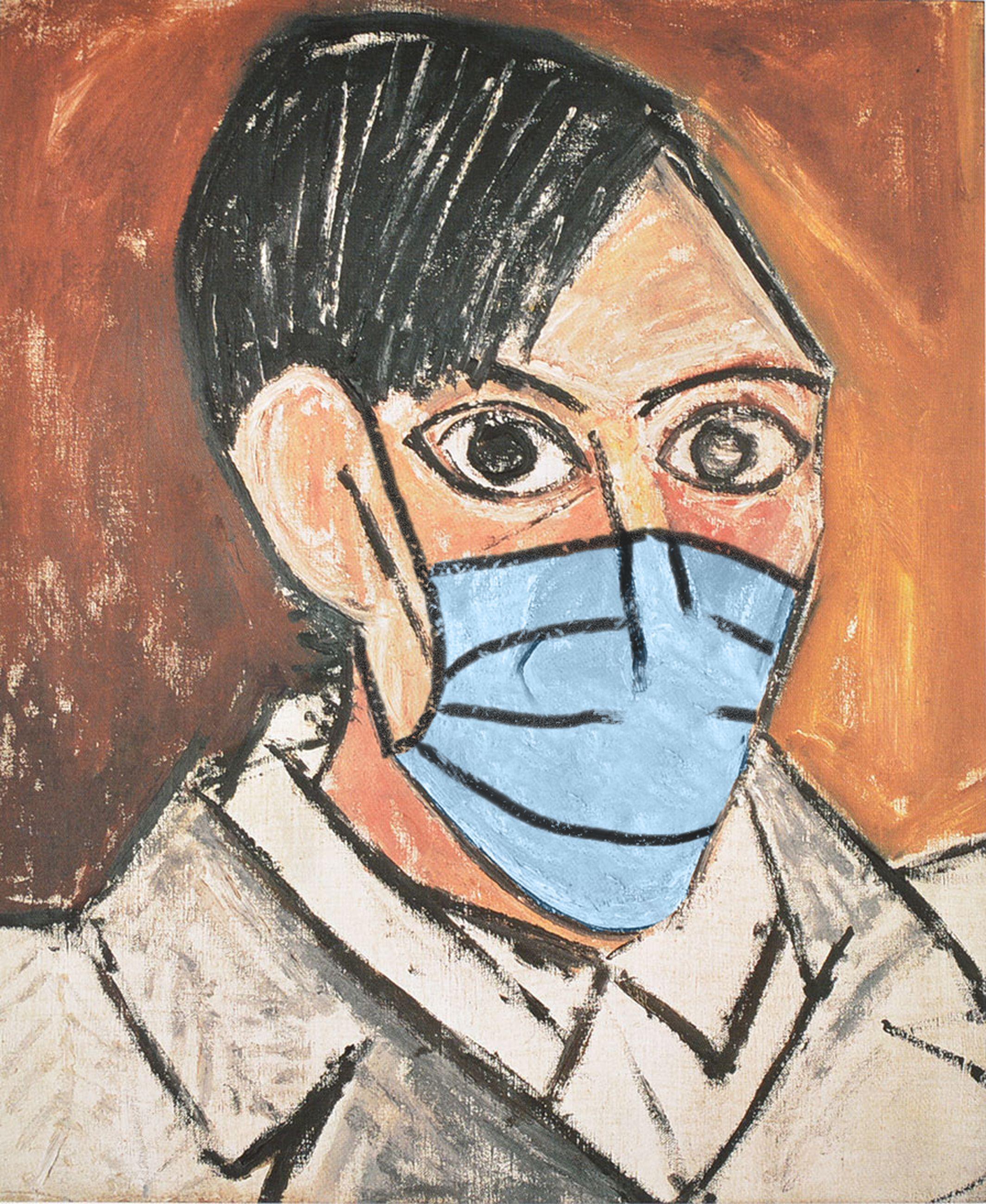 Autoritratto / Pablo Picasso/POA Estudio