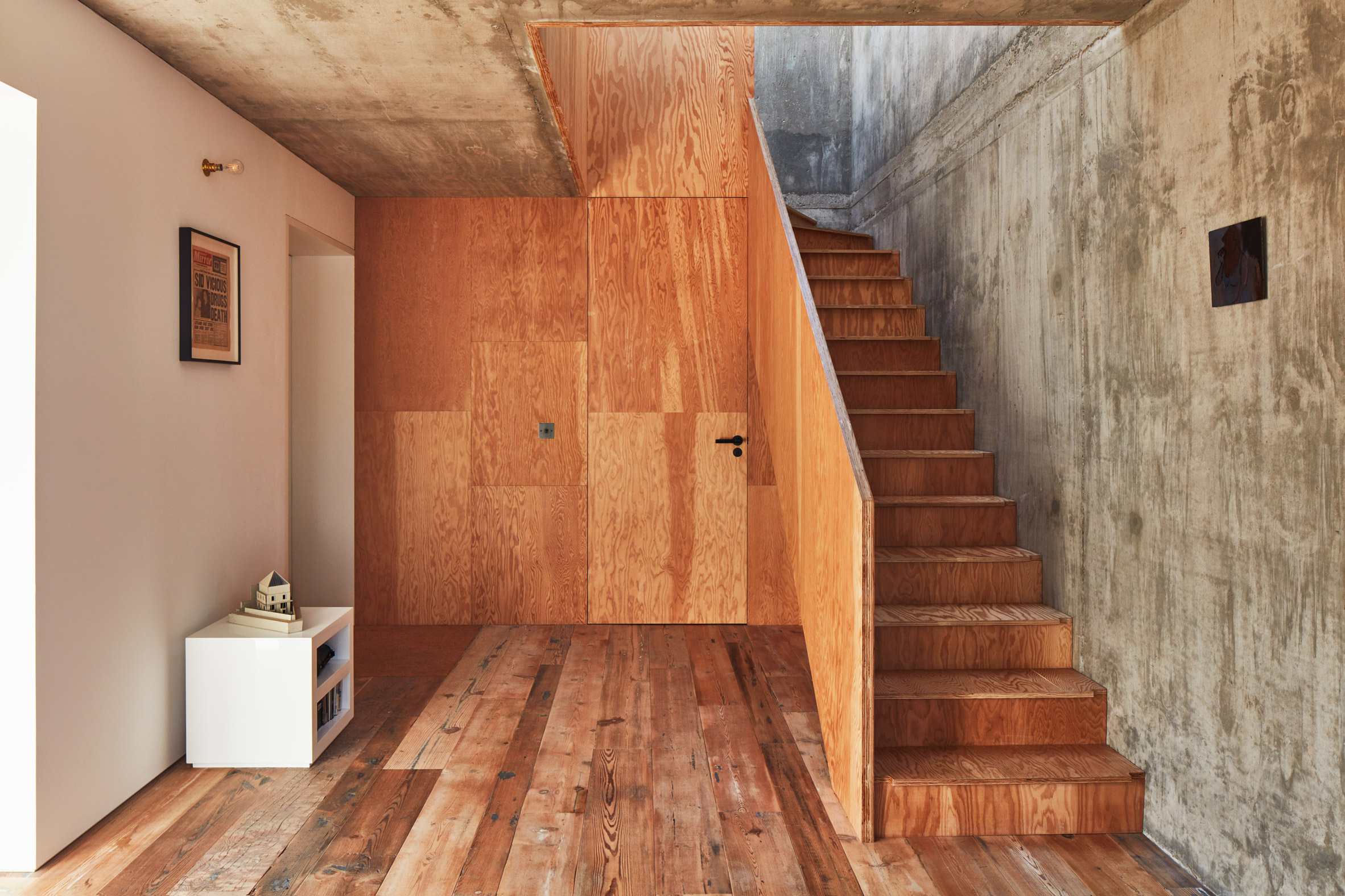 Il legno è il materiale protagonista