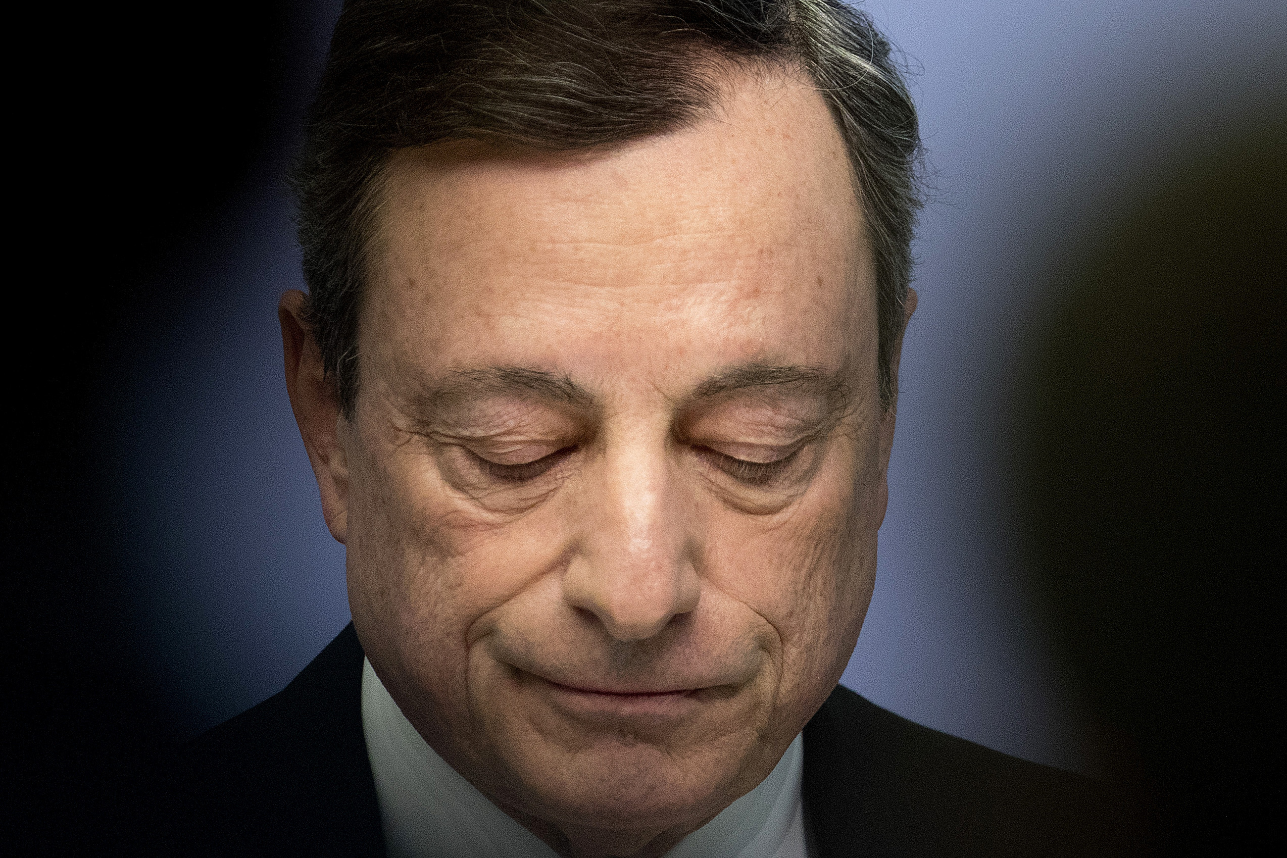 L'ex presidente della Banca centrale europea, Mario Draghi
