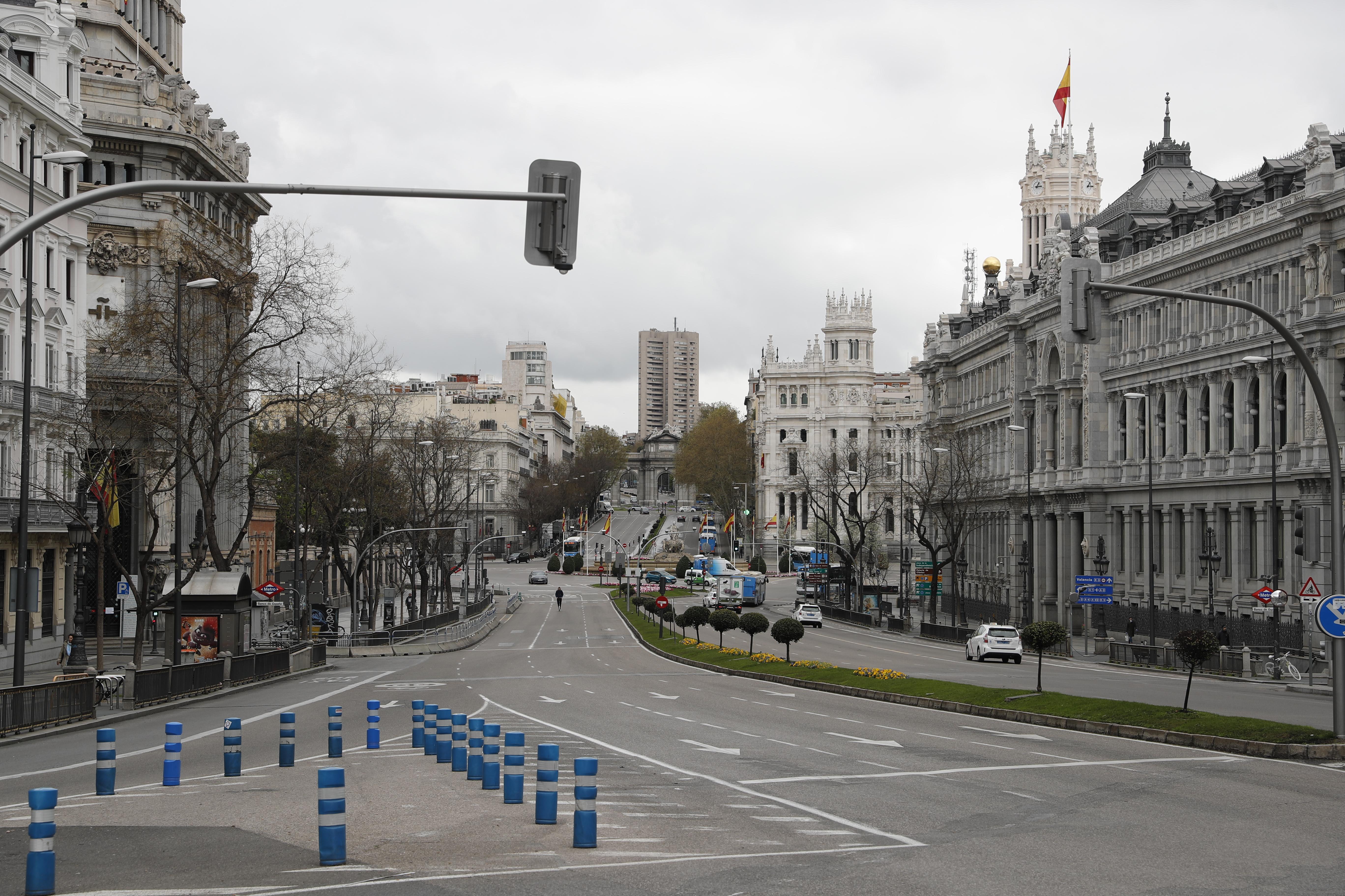 Calle Alcalá e Plaza de Cibeles / Gtres