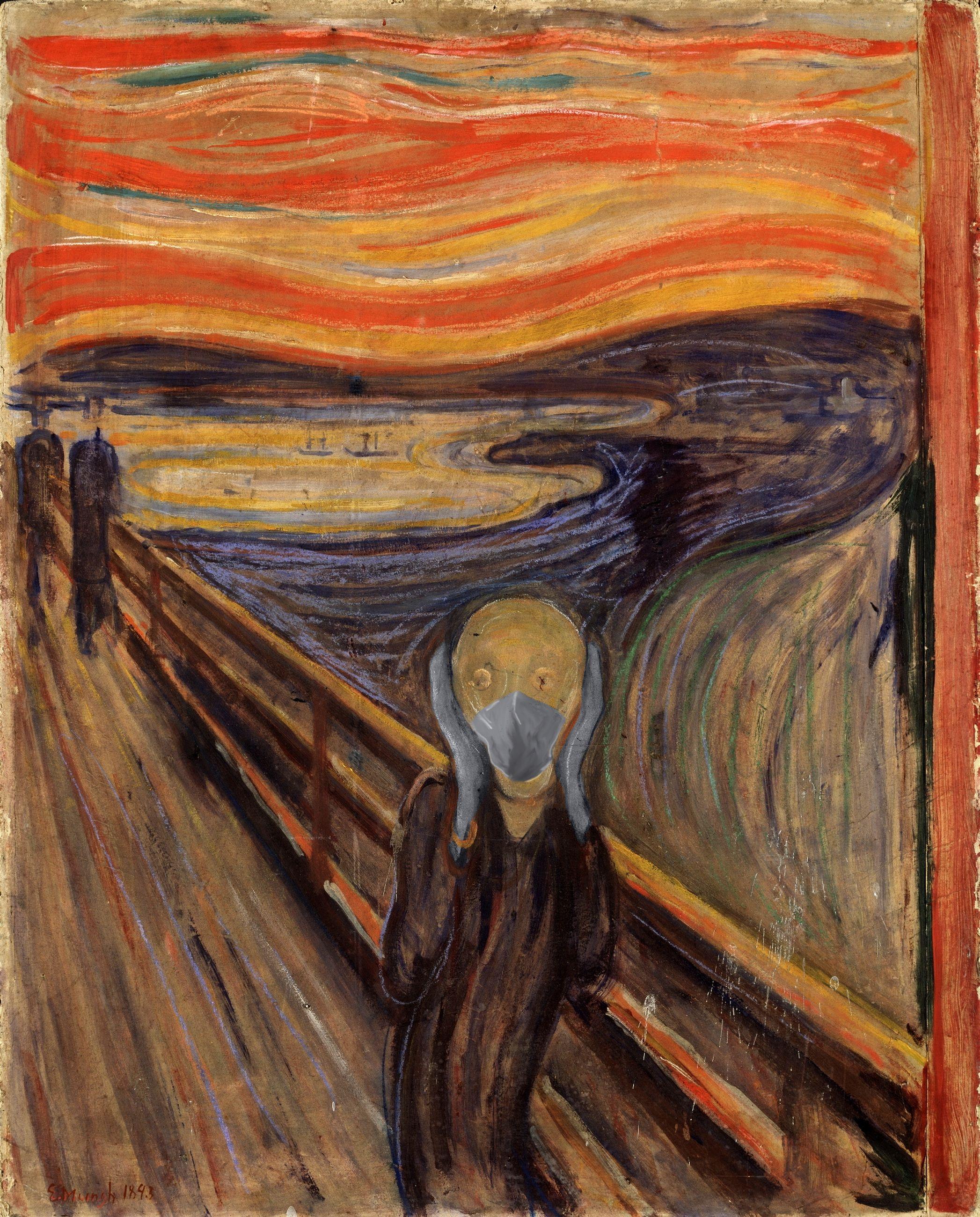 L'urlo / Edvard Munch/POA Estudio