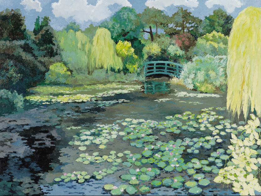 Pang Jiun Pang Jiun, Monet's Garden / Sotheby's