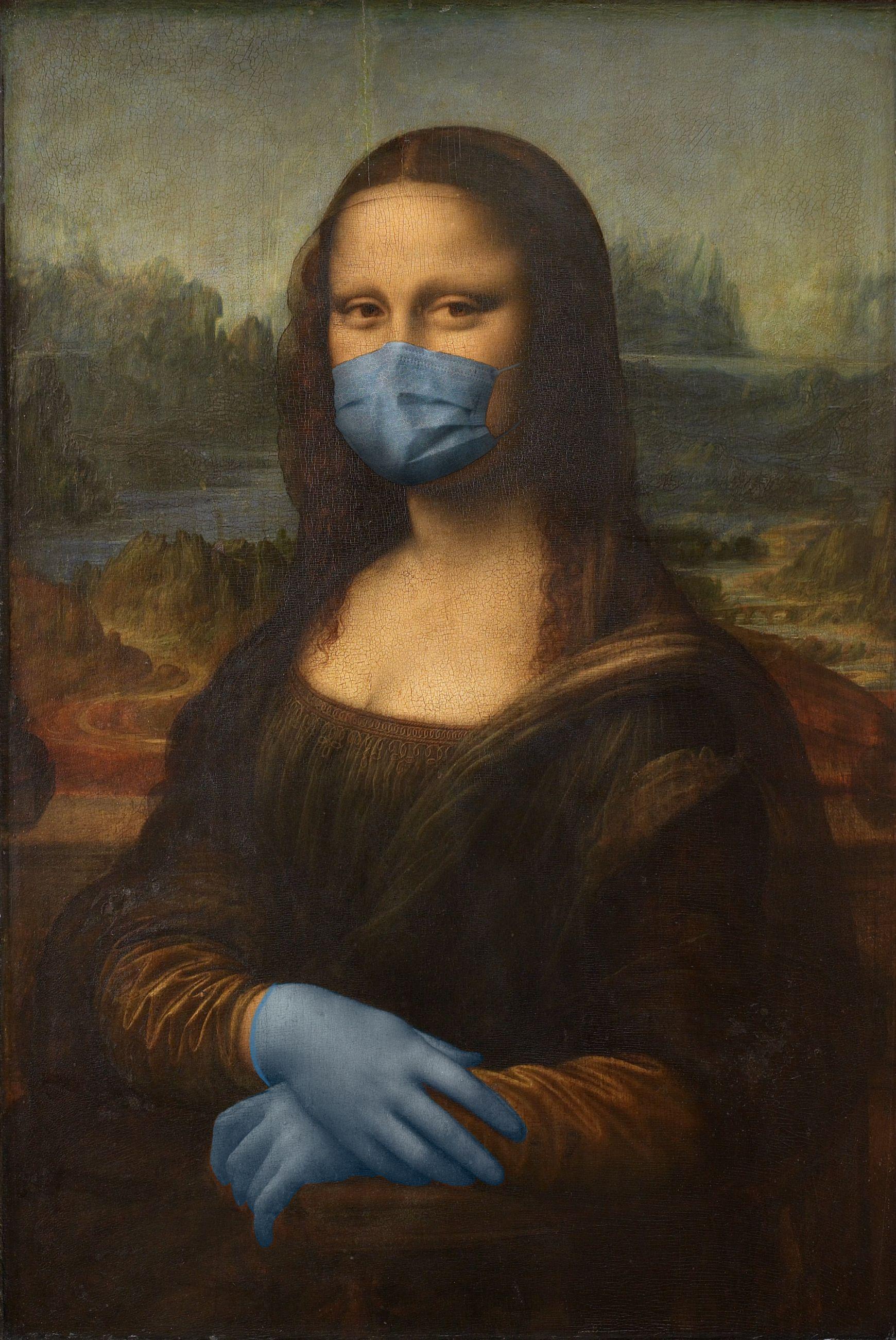 La Gioconda / Leonardo da Vinci/POA Estudio