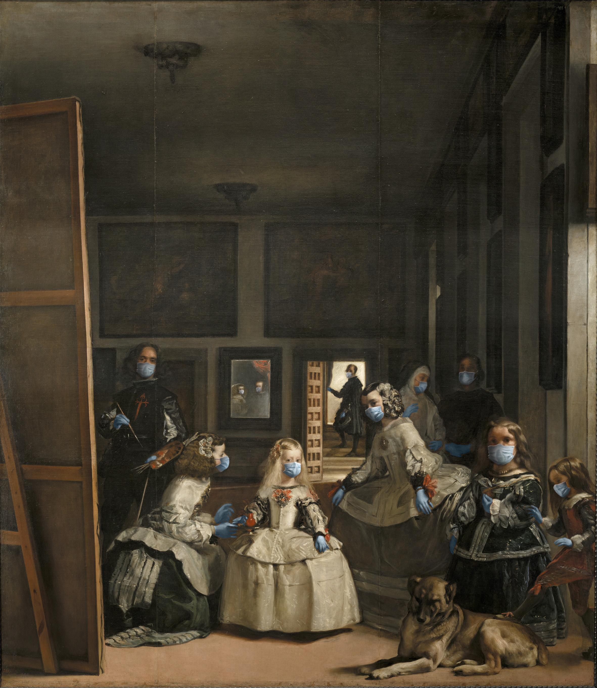 Las Meninas / Diego de Velázquez/POA Estudio