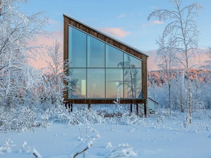 Una delle capanne sulla terraferma / Arctic Bath/Anders Blomqvist/Pasquale Baseotto/Johan Jansson