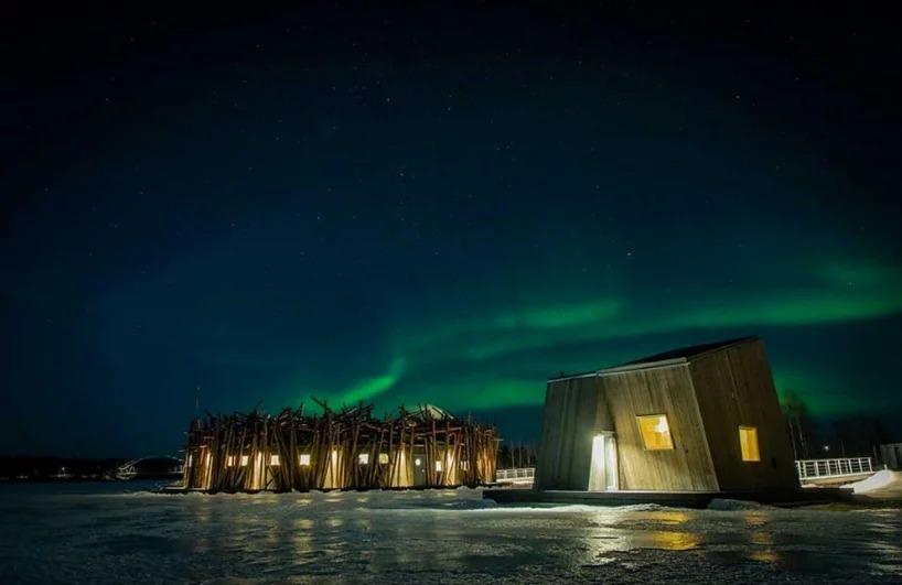 Per godere dell'aurora boreale / Arctic Bath/Anders Blomqvist/Pasquale Baseotto/Johan Jansson