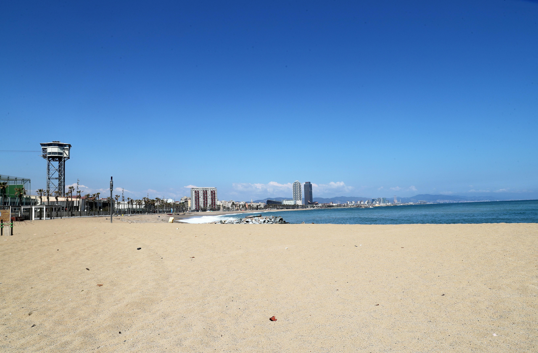 La spiaggia di Barcellona