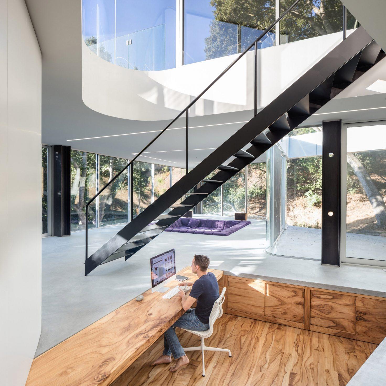 Un mega loft nella Silicon Valley / Craig Steely Architecture