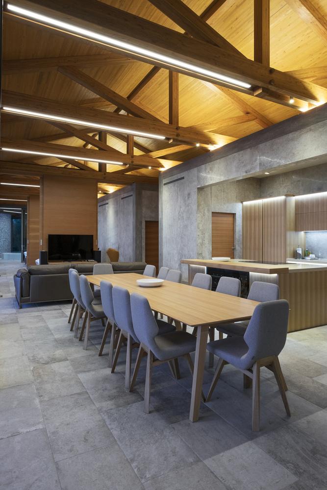 Cucina, sala da pranzo e soggiorno / Bosnić+Dorotić