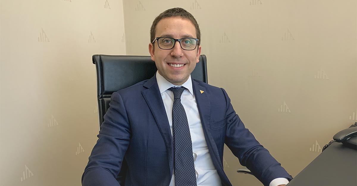 Danilo D'Abundo, l'agente immobiliare che ha realizzato la vendita online / Gruppo Toscano