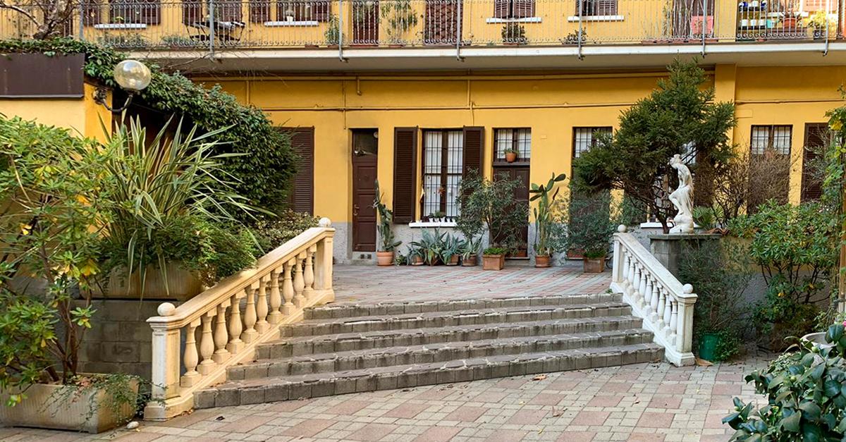 L'immobile di via Montevideo, zona Solari / Gruppo Toscano