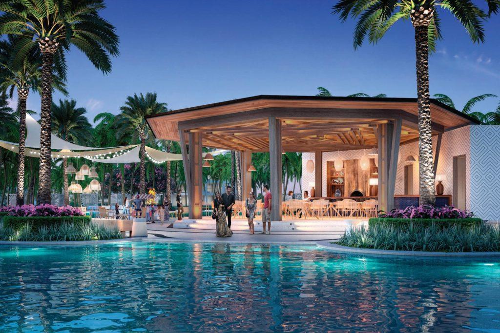 Una delle tre piscine / Conrad Punta de Mita