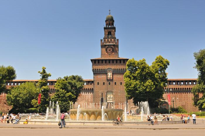 Castello Sforzesco - Milano / Gtres