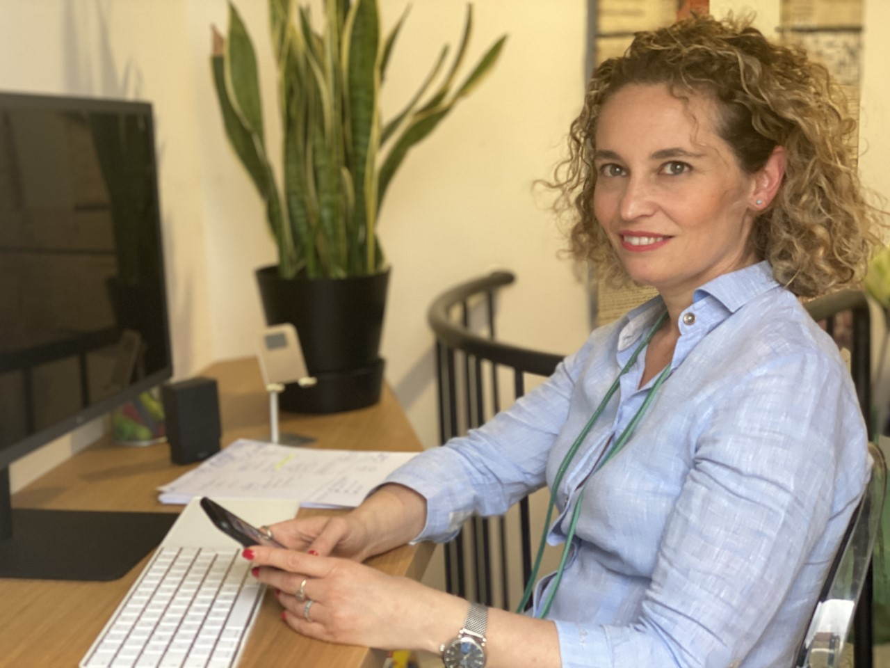 Roberta D'Onofrio, founder di Bnb Working Spaces / Bnb Working Spaces