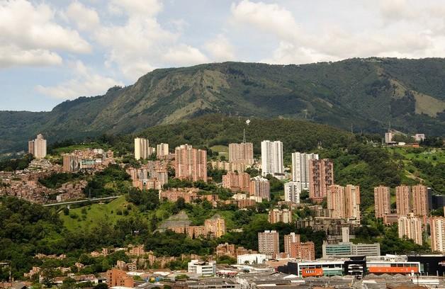 La città di Medellin