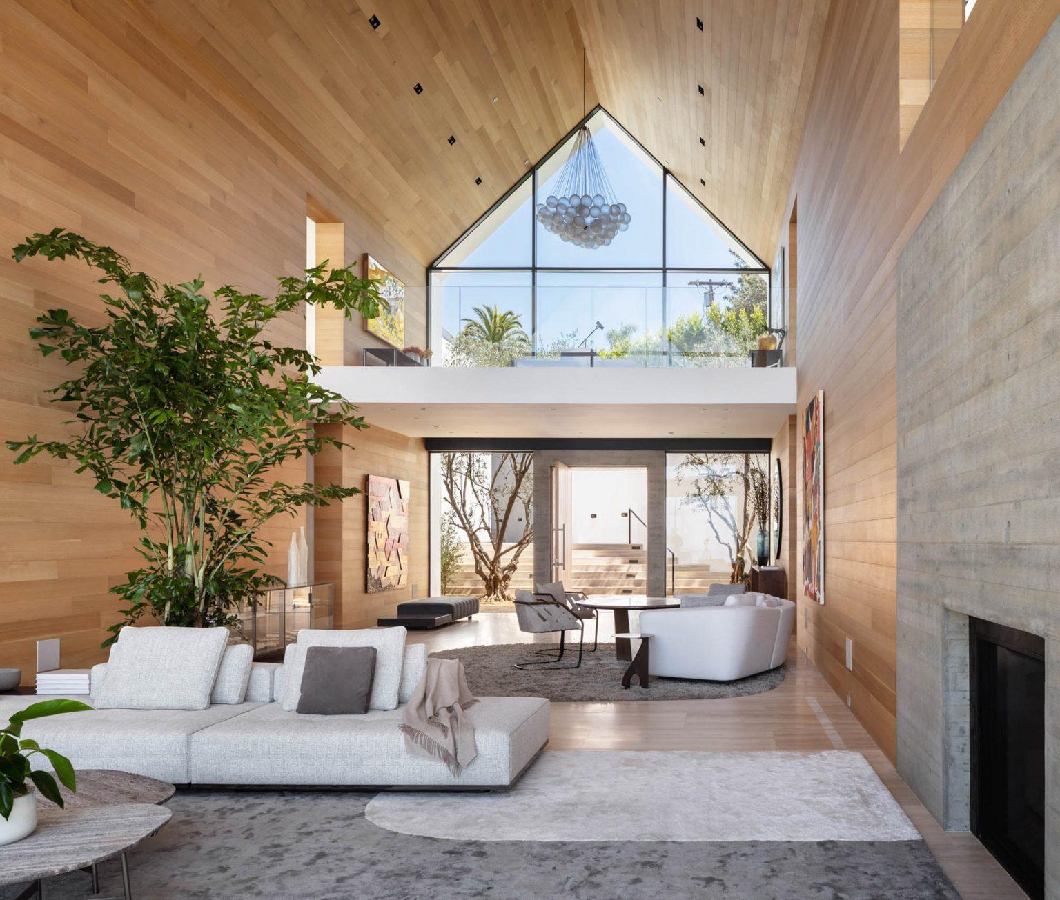 Il salone e il camino /  Standard Architecture/Viewpoint Collection