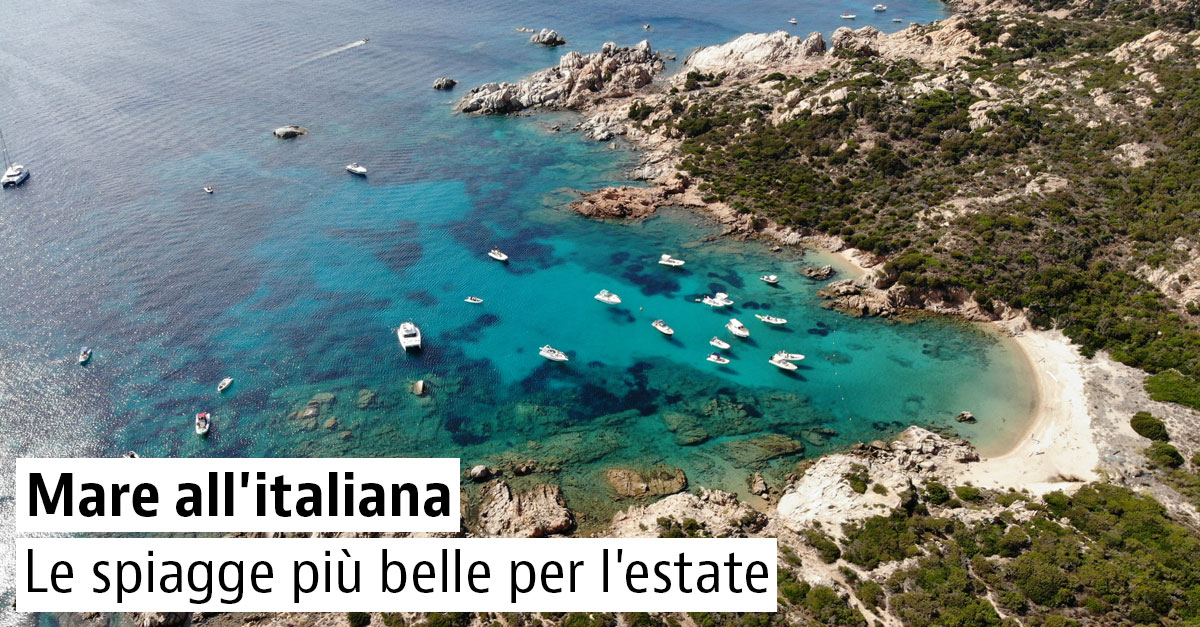 Spiagge Bandiera Blu 2021