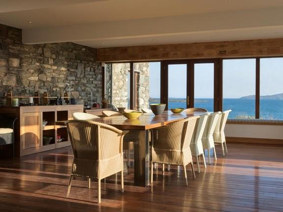 Soggiorno vista mare / Salón con vistas al mar