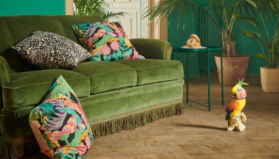 Motivi tropicali e colorati per ravvivare la stagione / Ikea