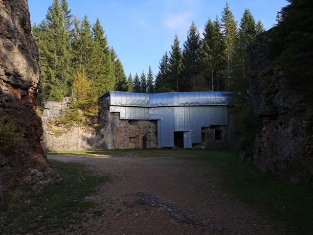 Forte austro-ungarico Werk Lusern / Amministrazione comunale vo Lusern