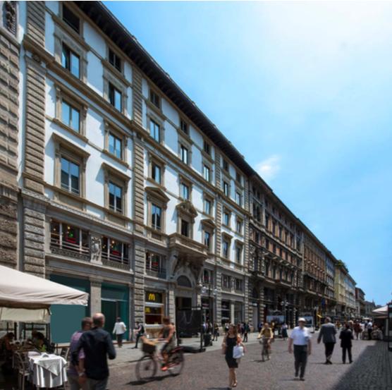 Casa Casati Magni - Via Dante 16 Milano / Amundi Re Sgr