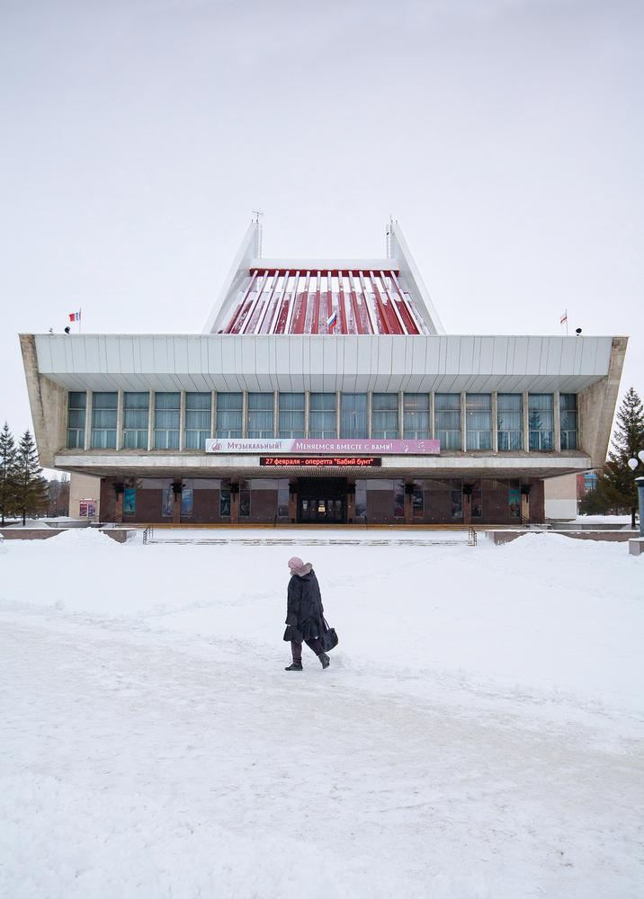 Auditorium di Omsk / Alexander Veryovkin/Zupagrafika
