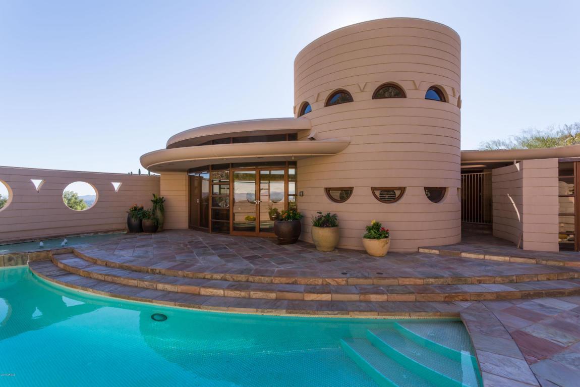 Casa progettata da Frank Lloyd Wright