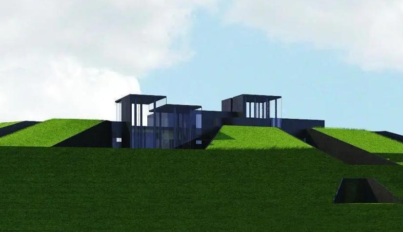 Da base in rovina ad abitazione moderna