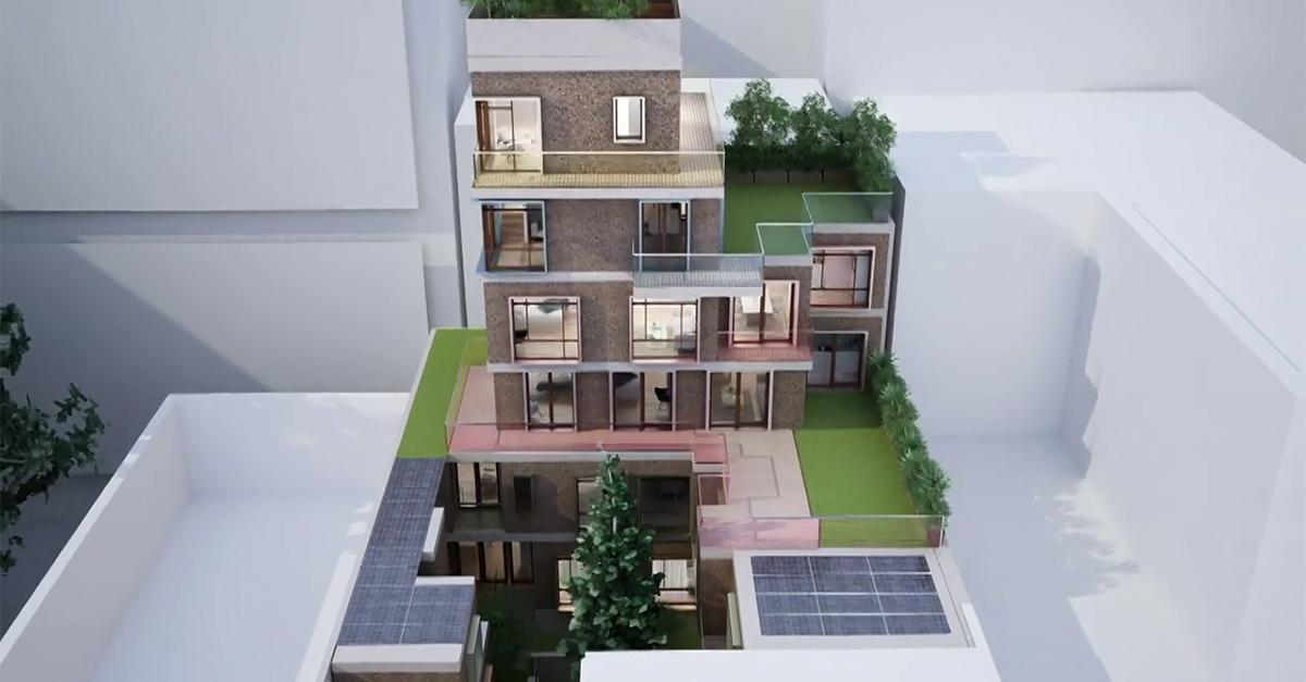 """Progetto """"Living Testaccio"""" REMAT Immobiliare"""