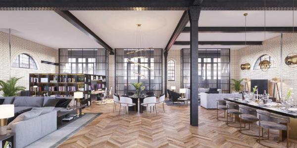 Un concetto di loft