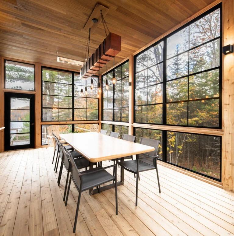 La sala da pranzo / David Boyer/Figurr architects collective