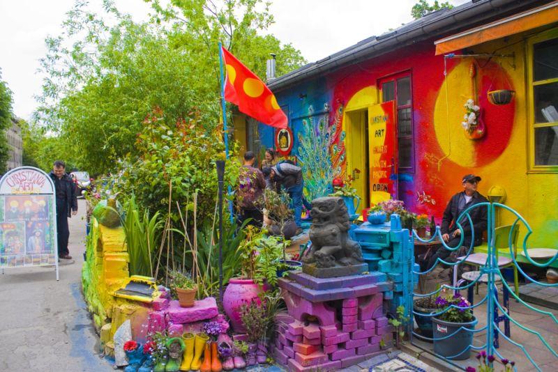 Christiania (Danimarca) / Wantedineurope.com