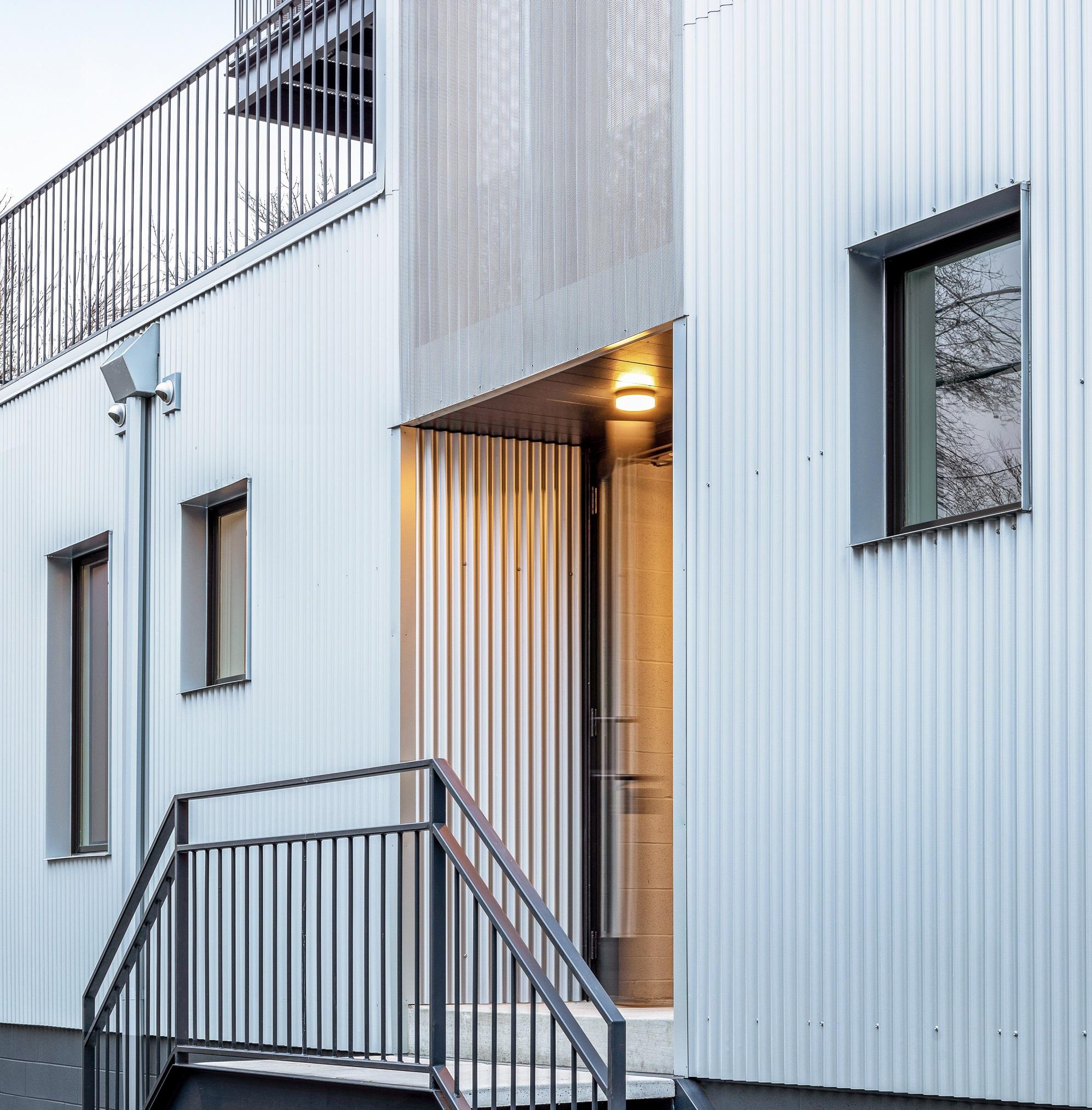 Un edificio sostenibile