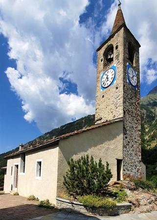 La chiesa / Comune di Oyace