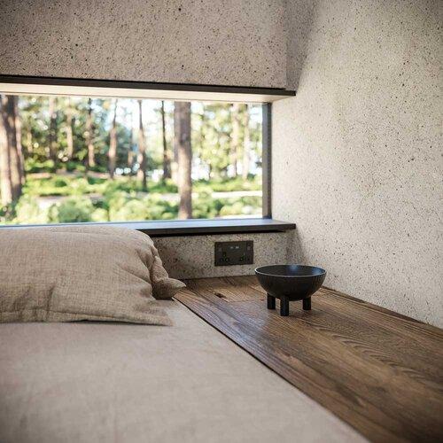 Grandi finestre con una vista mozzafiato