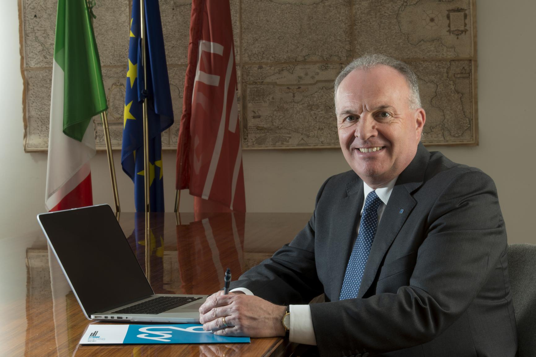 Il presidente del CNGeGL, Maurizio Savoncelli
